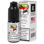 Green Apple + Kiwi Redberry eLiquid by Element Emulsions