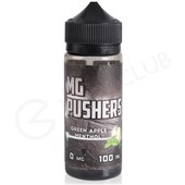 Green Apple Menthol eLiquid by MG Pushers 100ml