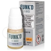 I Love PB eLiquid by Funk'd