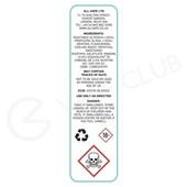 Ice Menthol Nic Salt E-Liquid by Club Juice