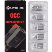 Kangertech Subtank OCC Replacement Coils (Pack of Five)