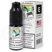 Key Lime Cookie + Frost eLiquid by Element Emulsions