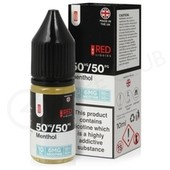 Menthol E-Liquid by Red Liquid 50/50