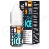 Nic Salt on Ice High VG Nicotine Booster Shot by Just Nic It