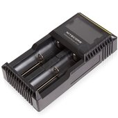 NiteCore D2 Vape Battery Charger (Two Bay)