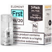 NS20 & NS10 Frost eLiquid Pod by Element
