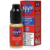 Strawberry Cheesecake eLiquid by Fifty 50