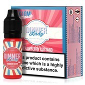 Strawberry Custard E-Liquid by Dinner Lady