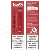 Strawberry Ice Beco Bar Disposable Device