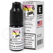 Strawberry Whip + Banana Nut eLiquid by Element Emulsions