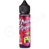 Strawz & Apple eLiquid With Mint by Monsta Vape 50ml