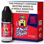 Strawz & Apple eLiquid By Monsta Vape