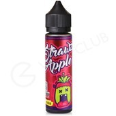 Strawz & Apple No Mint eLiquid by Monsta Vape 50ml