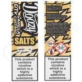 Vanilla Custard Nic Salt E-liquid by Doozy Salts