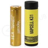 Vapcell K31 18650 Rechargeable Vape Battery (3150mAh 15A)