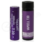 Vapcell T30 21700 Rechargeable Vape Battery (3000mAh 35A)