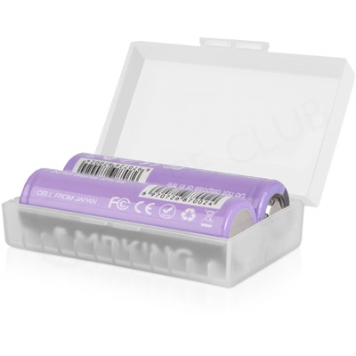 Dual 20700 Vape Battery Case (Frosted)