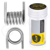 0.2 Ohm Coil Art Handmade Fused Clapton Coils