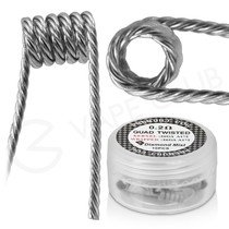 0.2 Ohm Diamond Mist Quad Twisted Premade Coils