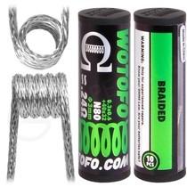 0.24 Ohm Wotofo Pre Built Braided Vape Coils