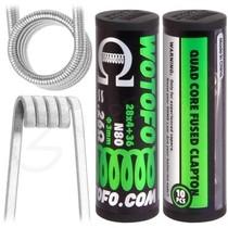 0.26 Ohm Wotofo Pre Built Quad Fused Clapton Vape Coils