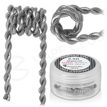 0.3 Ohm Diamond Mist Premade Serpent Coils