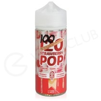 120 Strawberry Pop 100ml Shortfill by Mad Hatter Juice