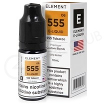 555 Tobacco E-Liquid by Element 50/50