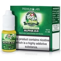 Alpha 2.0 eLiquid by Dr. Fog's M Series