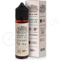 American Apple Pie Shortfill E-Liquid by Tonix 50ml