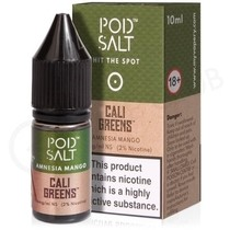 Amnesia Mango Nic Salt E-Liquid by Pod Salt & Cali Greens