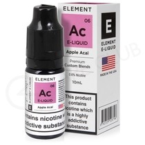 Apple Acai E-Liquid by Element 50/50