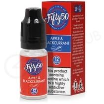 Apple & Blackcurrant E-Liquid by Fifty 50