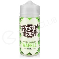 Apple & Cinnamon Waffle Shortfill E-Liquid by Flavour Treats
