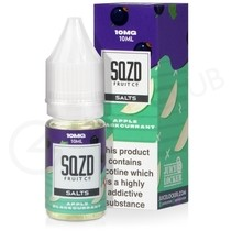 Apple Blackcurrant Nic Salt E-Liquid by SQZD