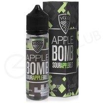 Apple Bomb Shortfill E-Liquid by VGOD Bomb Line 50ml