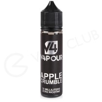 Apple Crumble 50ml Shortfill by V4 V4POUR