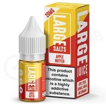 Apple Nutter Nic Salt E-Liquid by Large Juice