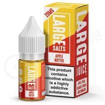 Apple Nutter Nic Salt E-Liquid by Large Juice