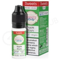 Apple Sours E-Liquid by Dinner Lady 50/50