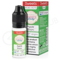 Apple Sours E-Liquid by DInner Lady 70/30