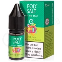 Apple Taffy eLiquid by Pod Salt