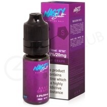 ASAP Grape Nic Salt E-liquid by Nasty Salts