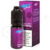 ASAP Grape Nic Salt E-liquid by Nasty Salts