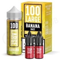 Banana Haze Shortfill E-Liquid by 100 Large 100ml