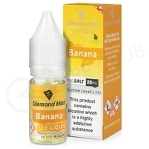 Banana Nic Salt E-Liquid by Diamond Mist
