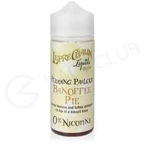 Banoffee Pie Shortfill E-Liquid by Leprechaun Liquids Pudding Parlour 100ml