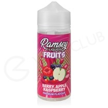 Berry Apple Raspberry Shortfill E-Liquid by Ramsey Fruits 100ml