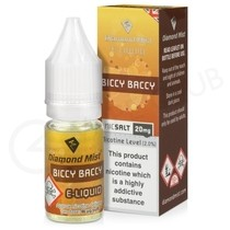 Biccy Baccy Nic Salt E-Liquid by Diamond Mist