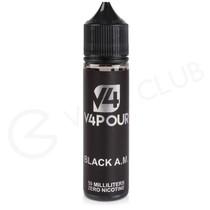 Black AM 50ml Shortfill by V4 V4POUR